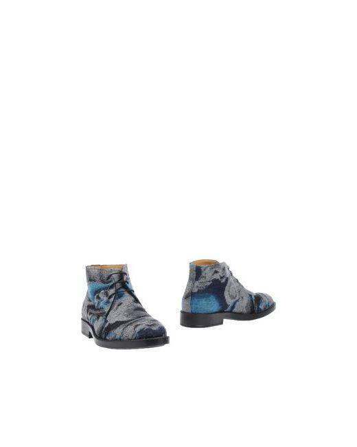 Kenzo | Мужские Серые Полусапоги И Высокие Ботинки