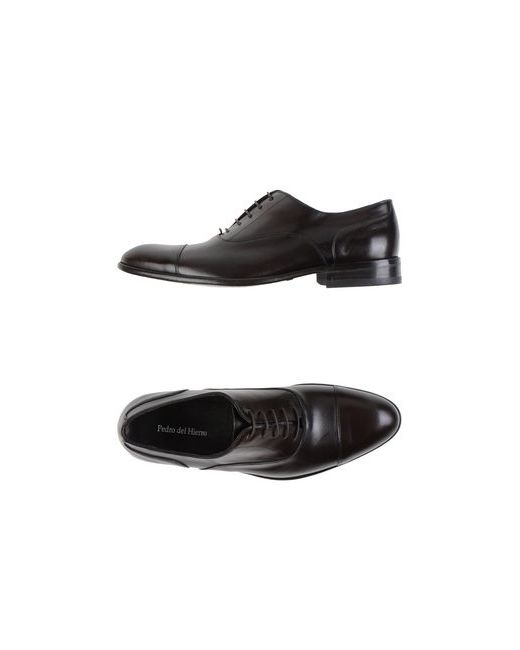 Pedro Del Hierro | Мужская Коричневая Обувь На Шнурках