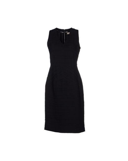 Burberry London   Женское Чёрное Платье До Колена