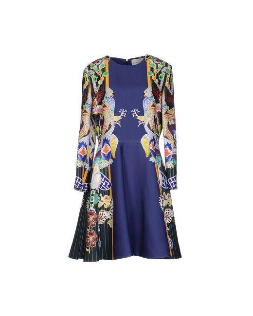 Mary Katrantzou | Женское Синее Короткое Платье