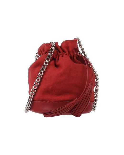 CARLA G. | Женская Красная Сумка Через Плечо