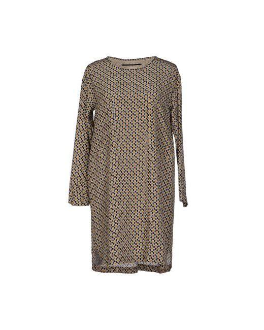 Momoní   Женское Бежевое Короткое Платье