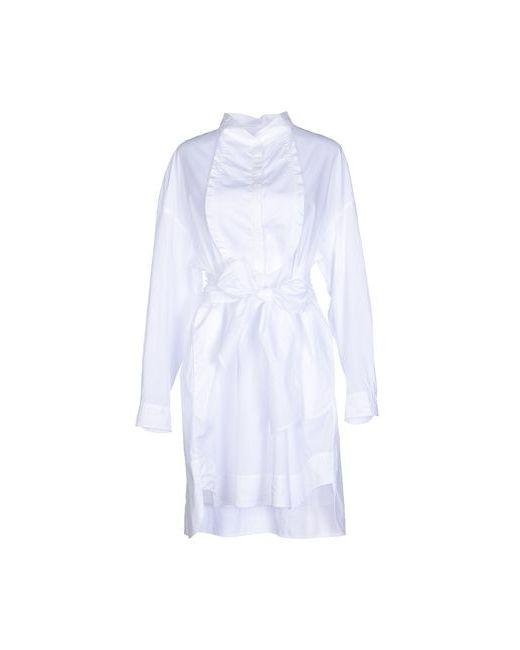 Hoss Intropia | Женское Белое Короткое Платье