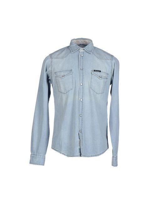 Roÿ Roger'S   Мужская Синяя Джинсовая Рубашка
