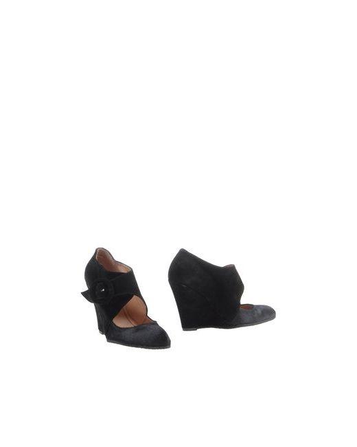 Logan | Женские Чёрные Ботинки