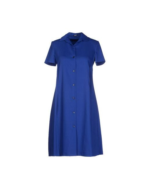 Jil Sander Navy | Женское Синее Короткое Платье