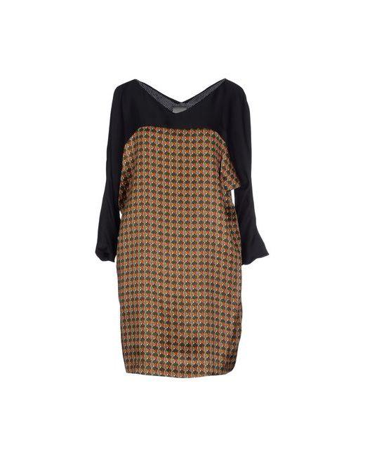 Alice San Diego | Женское Коричневое Короткое Платье