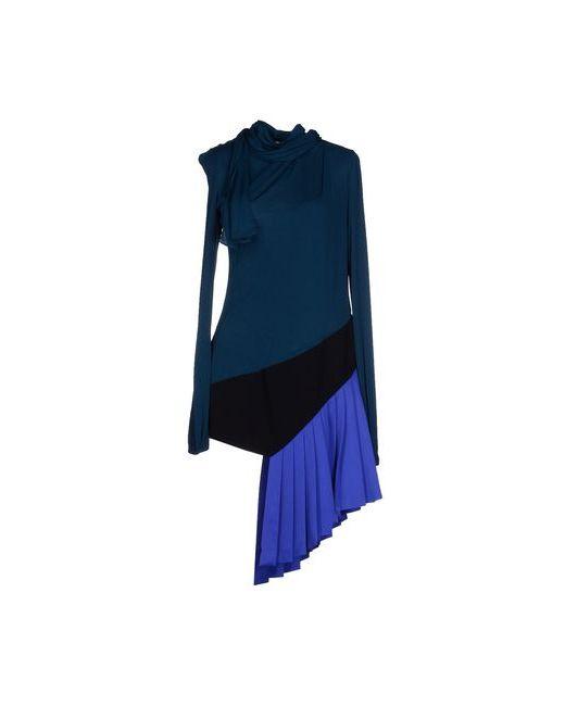 Vionnet | Женское Цвет Морской Волны Короткое Платье