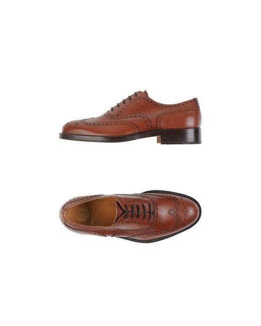 BECKLEY | Мужская Коричневая Обувь На Шнурках