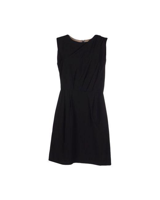 Bonsui | Женское Чёрное Короткое Платье
