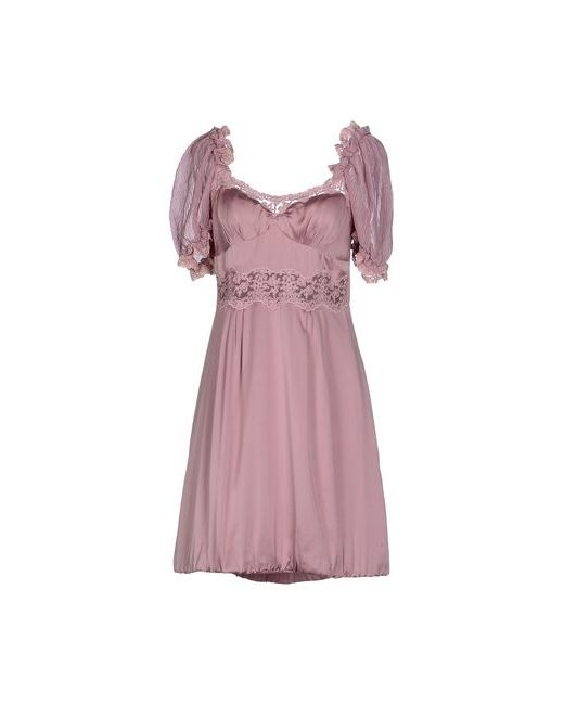 Scervino Street | Женское Розовое Короткое Платье