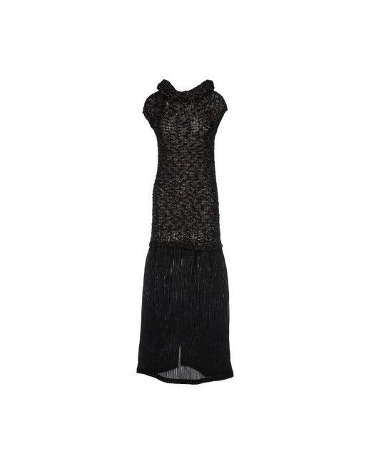 Gotha | Женское Чёрное Длинное Платье