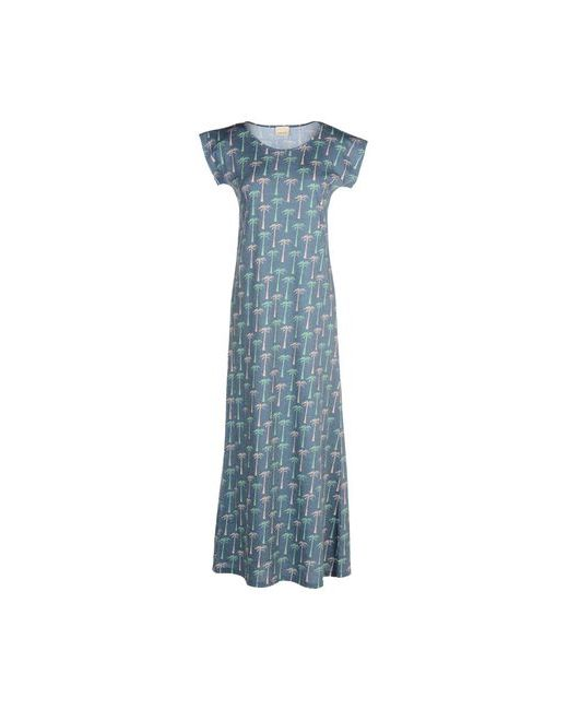 Circus Hotel | Женское Синее Длинное Платье
