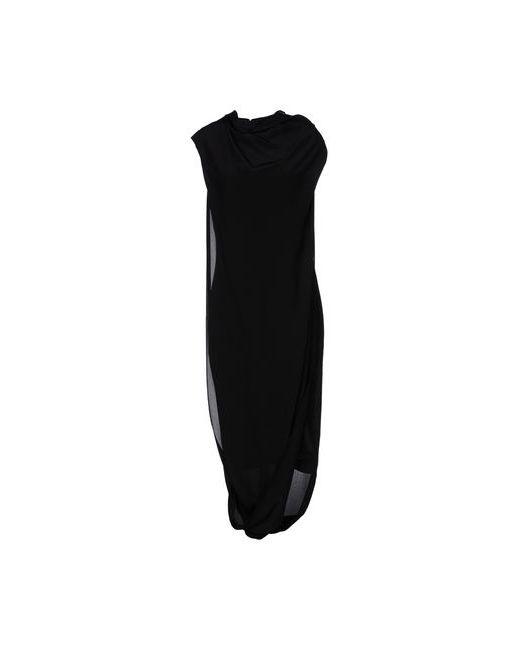 Acne | Женское Чёрное Платье До Колена