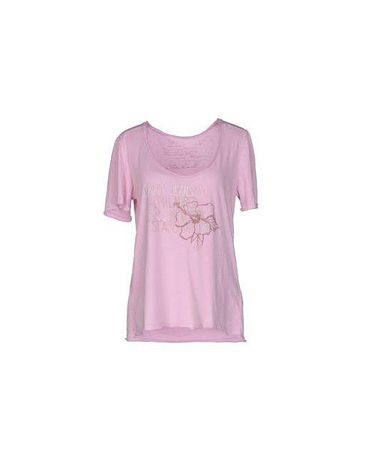 Polo Jeans Company   Женская Розовая Футболка