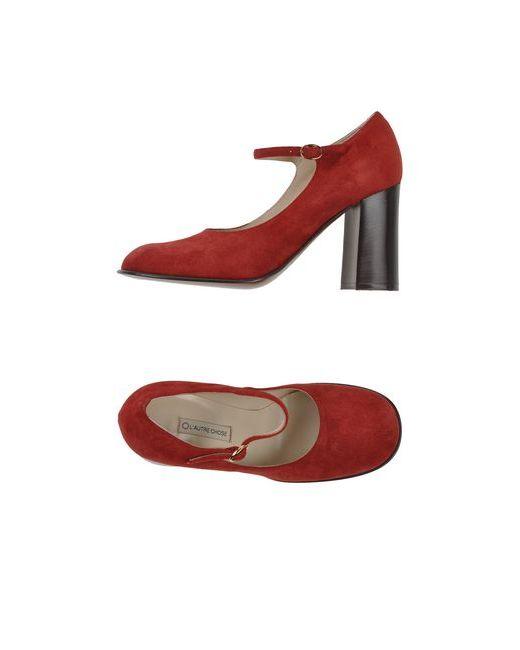 L' Autre Chose   Женские Красные Туфли