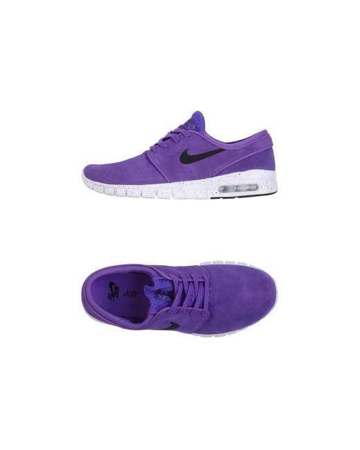 Nike   Женские Фиолетовые Низкие Кеды И Кроссовки