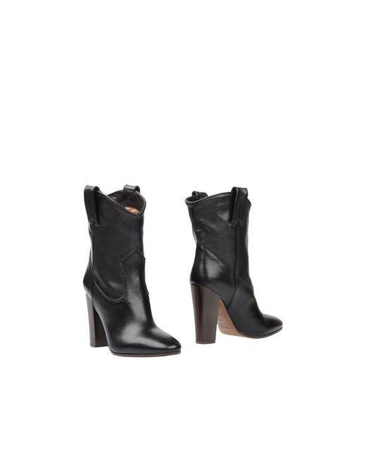 L' Autre Chose | Женские Чёрные Полусапоги И Высокие Ботинки