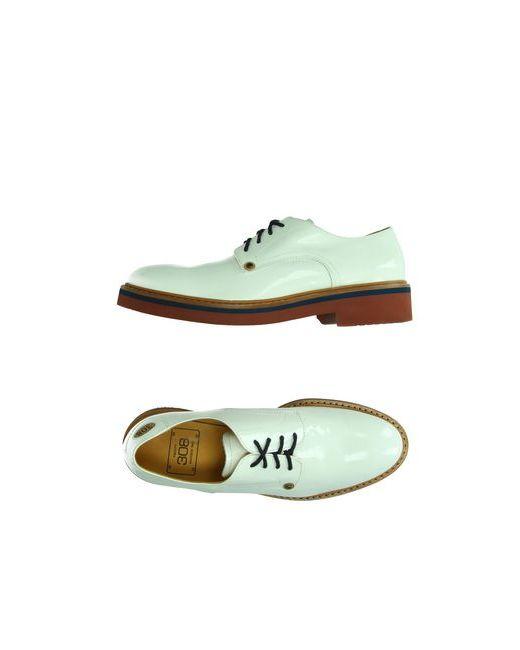 PACIOTTI 308 MADISON NYC   Мужская Белая Обувь На Шнурках