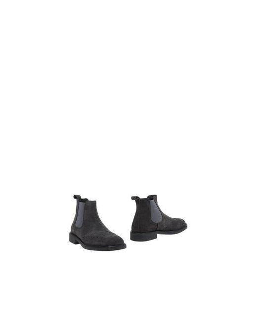 Bryan Shoes | Мужские Серые Полусапоги И Высокие Ботинки