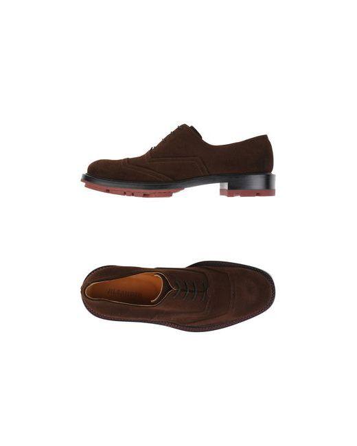 Jil Sander | Мужская Коричневая Обувь На Шнурках