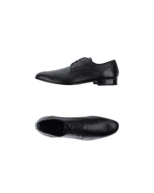 Bruno Bordese   Мужская Чёрная Обувь На Шнурках