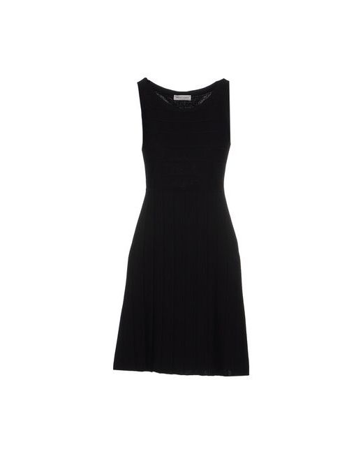 Bruno Manetti   Женское Чёрное Короткое Платье