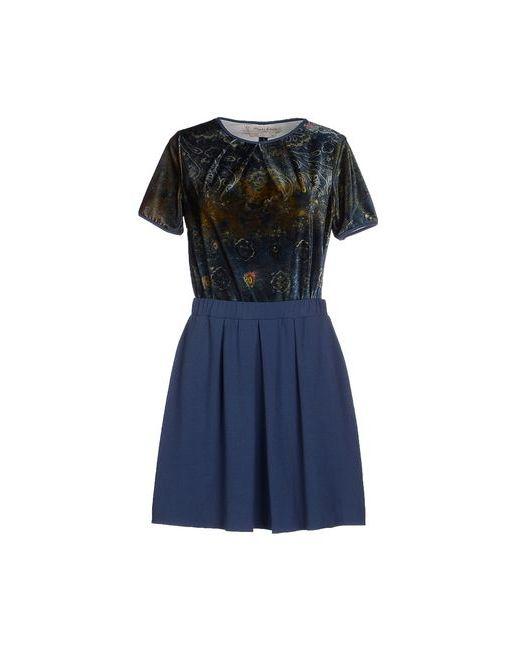 Manila Grace Denim | Женское Синее Короткое Платье