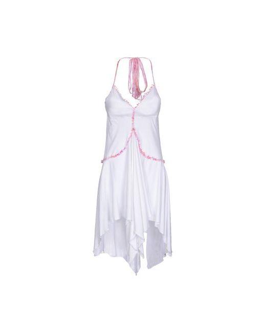 Exte   Женское Белое Короткое Платье