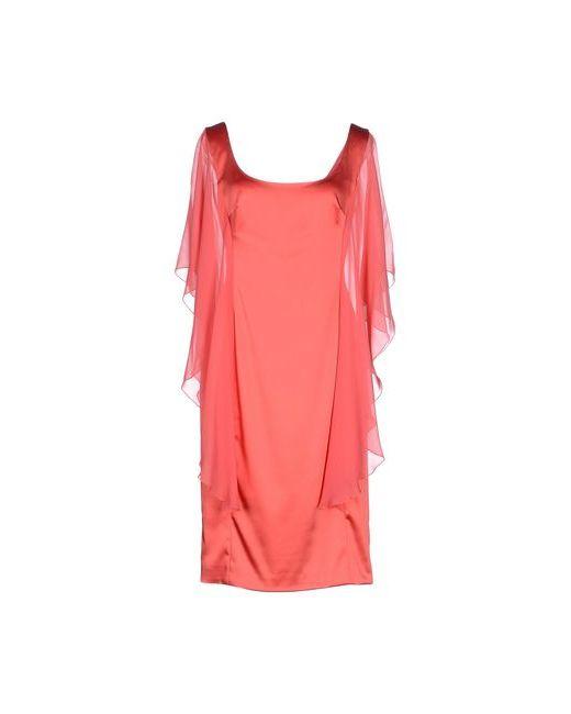 X'S COUTURE MILANO | Женское Коралловое Платье До Колена