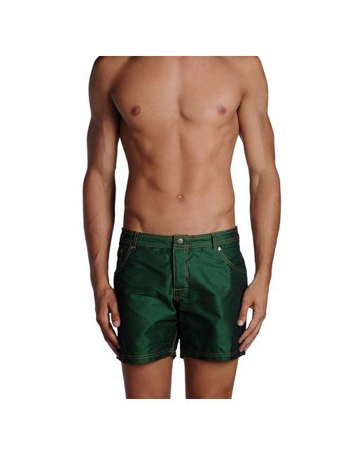 Sundek | Мужские Зелёные Шорты Для Плавания