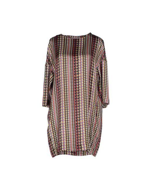 Rosamunda | Женское Зелёное Короткое Платье