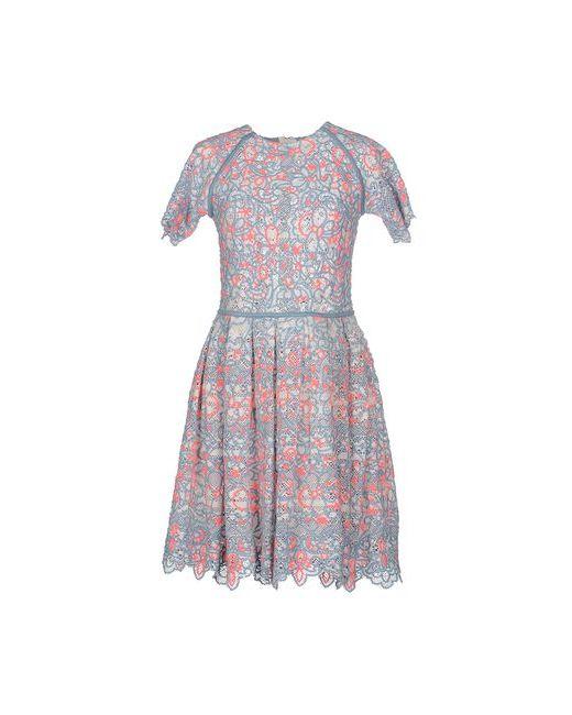 Manoush | Женское Голубое Короткое Платье