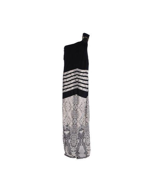 Class Roberto Cavalli | Женское Чёрное Длинное Платье