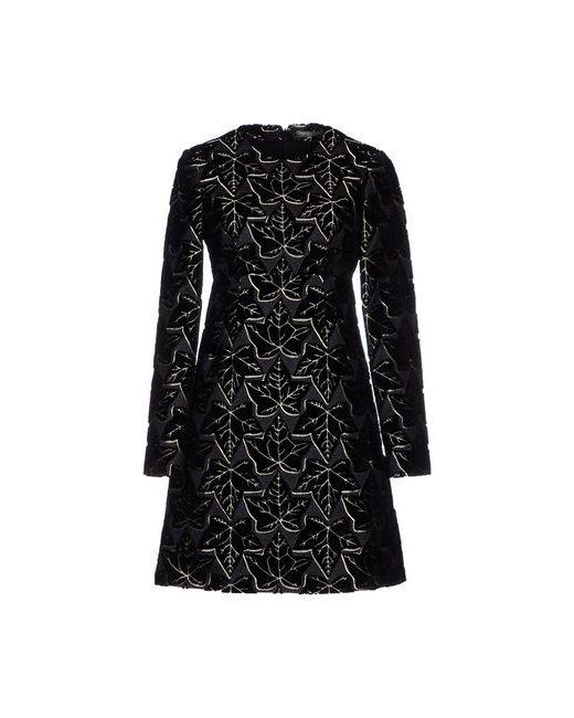Alexander McQueen | Женское Серое Короткое Платье