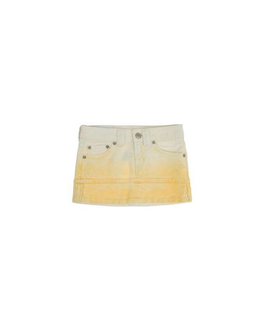 Dondup Dqueen | Женская Жёлтая Джинсовая Юбка