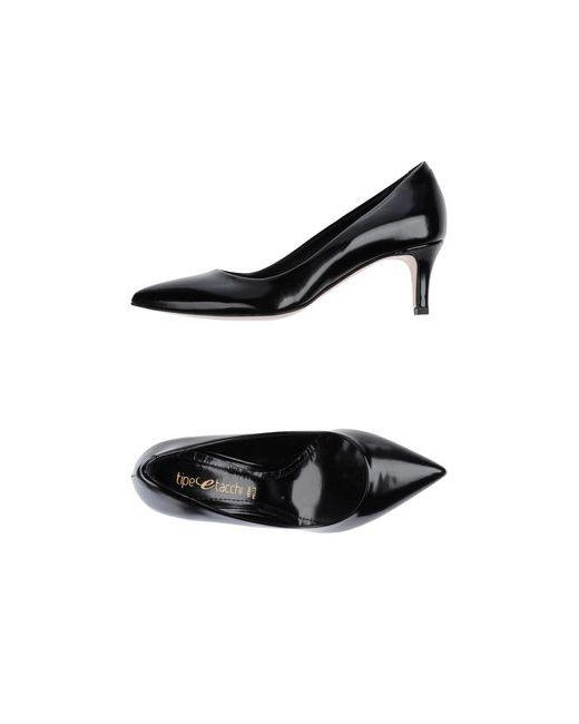 TIPE E TACCHI | Женские Чёрные Туфли