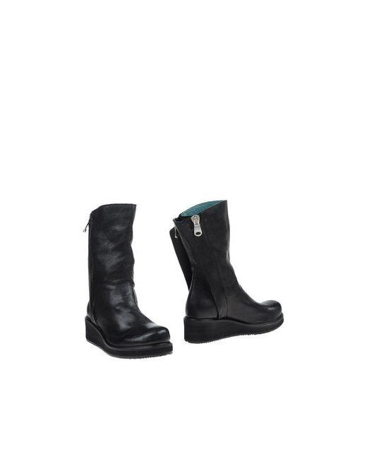 CARDIFF   Женские Чёрные Полусапоги И Высокие Ботинки