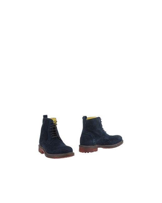 Herman & Sons | Мужские Синие Полусапоги И Высокие Ботинки