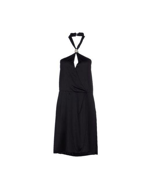Patrizia Pepe | Женское Чёрное Платье До Колена