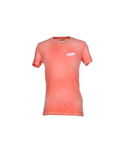 Individual   Мужская Розовая Футболка