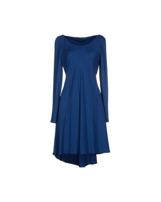 Flavio Castellani | Женское Синее Короткое Платье