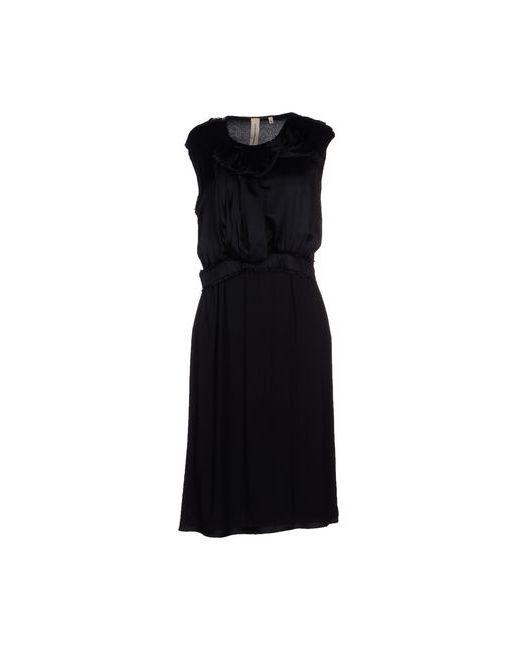 COAST WEBER & AHAUS | Женское Чёрное Платье До Колена