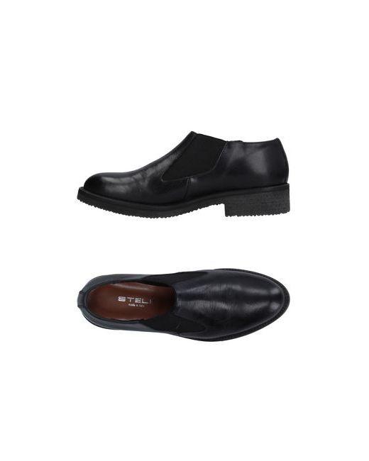 Stele | Женские Чёрные Ботинки