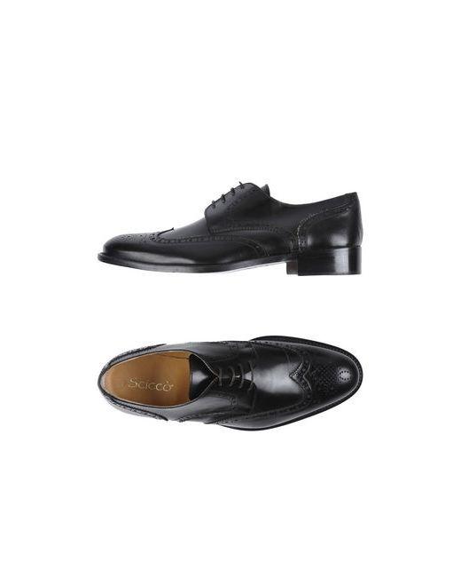 SCICCO | Мужская Коричневая Обувь На Шнурках