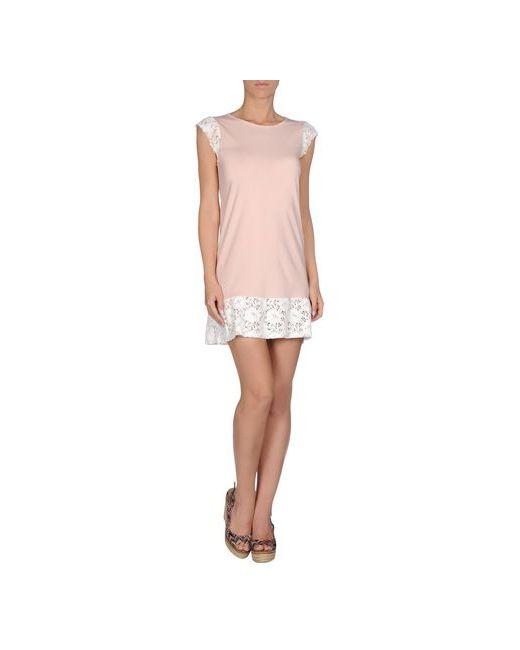 Moschino Swim | Женское Розовое Пляжное Платье