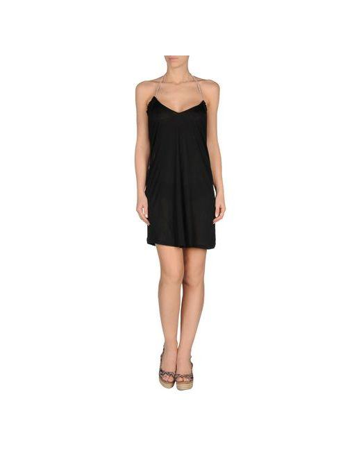 John Galliano Beachwear   Женское Чёрное Пляжное Платье