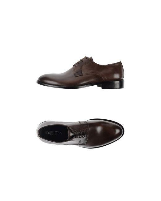 Thompson | Мужская Коричневая Обувь На Шнурках