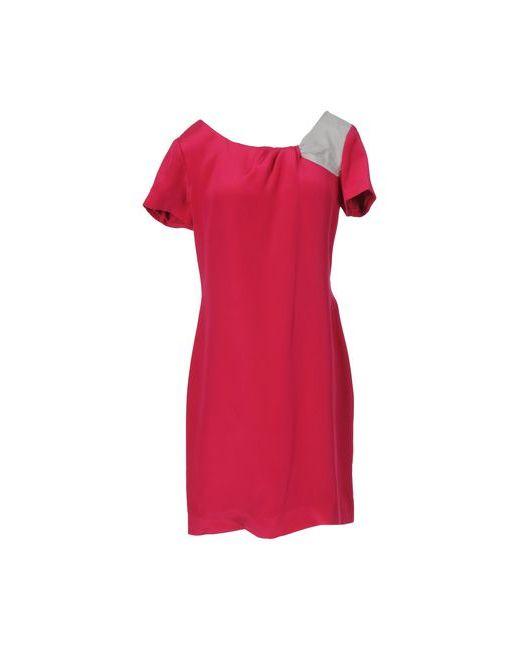 Emporio Armani | Женское Фуксия Короткое Платье
