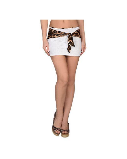 Roberto Cavalli Beachwear   Женское Белое Пляжное Платье